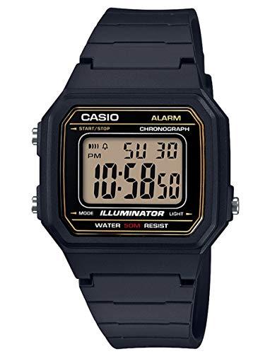 Casio Reloj Digital para Hombre de Cuarzo con Correa en Resina W-217H-9AVEF