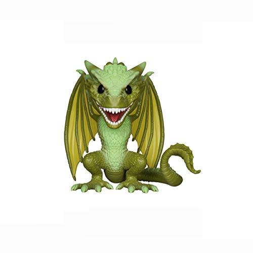 LYXPUZI Pop dragón Verde, dragón Amarillo, Lego Dragón Madre, Veselion la decoración del Coche Figura Coleccionable (Color : C)