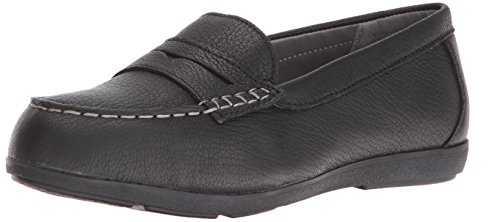 Rockport Work Women's Top Shore RK600 Work Shoe, Black, 9 M US