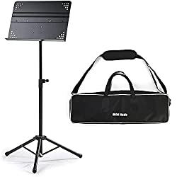 Hola! HM-MS+ Professional Folding Orchestra Sheet Music Stand - Best Conductor Stands