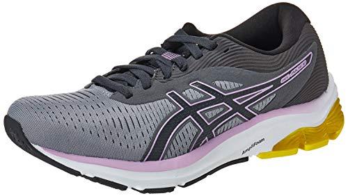 Asics Gel-Pulse 12, Road Running Shoe Mujer, Sheet Rock/Graphite Grey, 40.5 EU