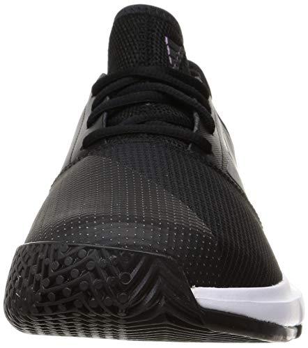 adidas GameCourt M, Zapatillas de Tenis Hombre, NEGBÁS/NEGBÁS/FTWBLA, 44 2/3 EU