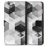 Étui Compatible avec Apple iPhone 6s Plus Étui Folio Étui magnétique Géométrique Graphique...