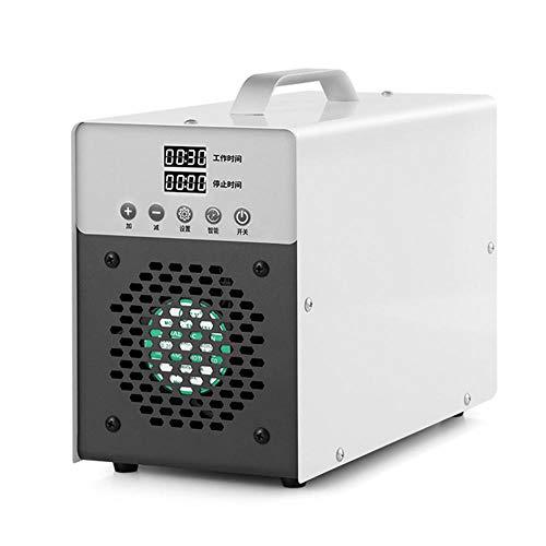 JXTBFQ Generador de ozono, máquina de desinfección de ozono de Gran Capacidad de 10000 MG/Hora, purificador de Aire, Utilizado para Eliminar el formaldehído y el Olor, desodorizar y esterilizar