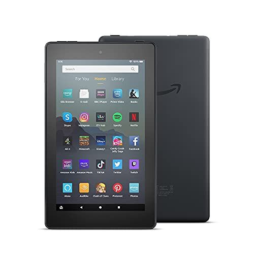 Fire 7 Tablet | 7' display, 16 GB, Black - with Ads