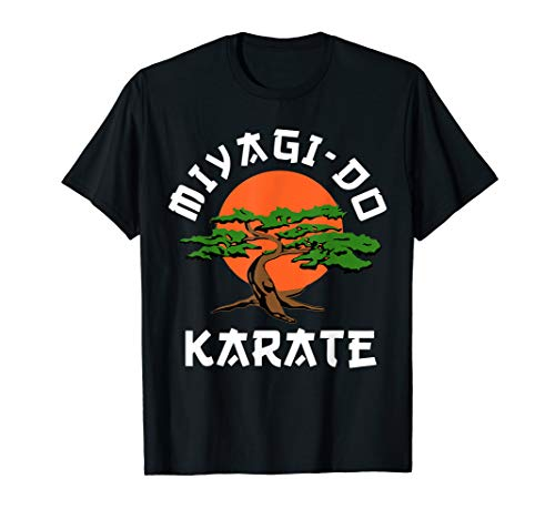 Vintage Miyagi-Do T-Shirt Karate Bonsai Tree T-Shirt