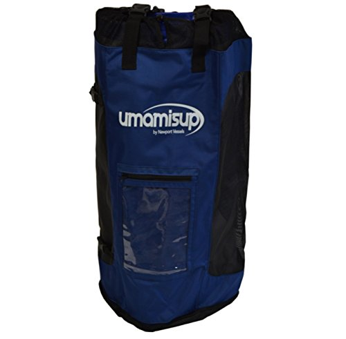 Newport Vessels Stand up Paddleboard Inflatable Mesh Backpack Carrying Bag, Blue