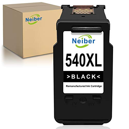 Neiber 540XL Cartucce d'inchiostro Compatibile per Canon PG540XL per Canon Pixma TS5150 TS5151 MG4250 MG3650 MX475 MX535 MG4200 MG3550 MX395 MG3600 MX375(1xNero)