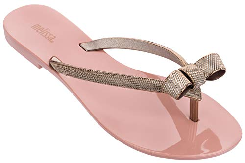 Melissa Shoes Harmonic Chrome IV AD Pink/Bronze 8 M