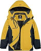 GEMYSE Girl's Waterproof Ski S...