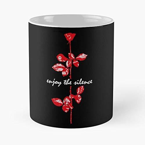 Awesomdeals Rose Dm Devotees Devotee Enjoy Depeche Mode Silence The Song Best 11 oz Kaffeebecher - Nespresso Tassen Kaffee Motive