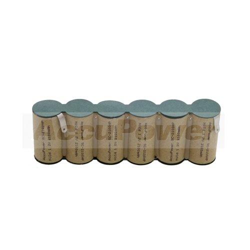 AccuPower batterie pour cisailles arbustifs Gardena ACCU90, 2800mAh