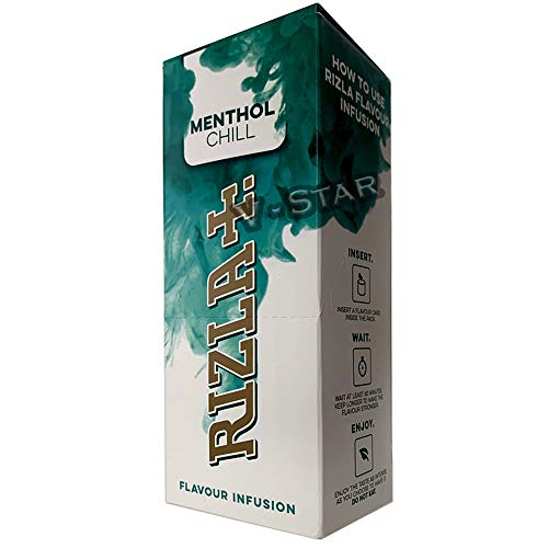 Rizzla Aromatik-Karten – Infusions-Karten – 25 Packungen – komplette Box