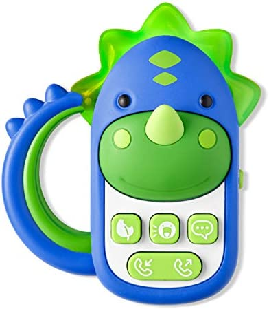 Skip Hop Baby Phone Toy Zoo Cell Phone Dinosaur product image