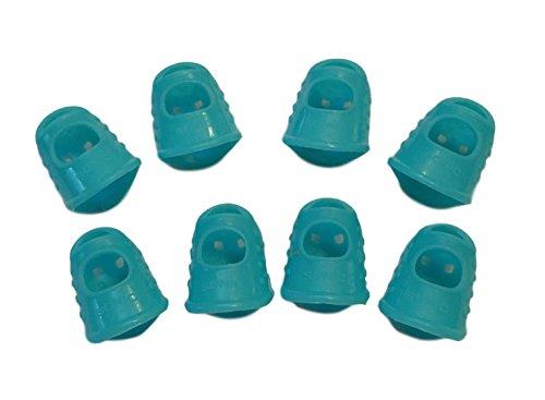 8 stuks siliconen vingerbeschermers vingerbeschermers vingerbeschermers vingertopbescherming afdekkingen voor vingers handbescherming - ideaal voor het schilderen, gitaar spelen, tuinieren, naaien enz. - Bescherming voor uw vingertoppen - extreem flexibel, duurzaam en herbruikbaar - gemengde kleuren