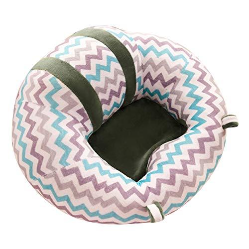 YUIO Tragbare Baby-Sicherheitssofa 360 Grad schützen Licht und tragbare stabilisieren Ihr Baby zu Hause 1 Stück - Grüne Leiste