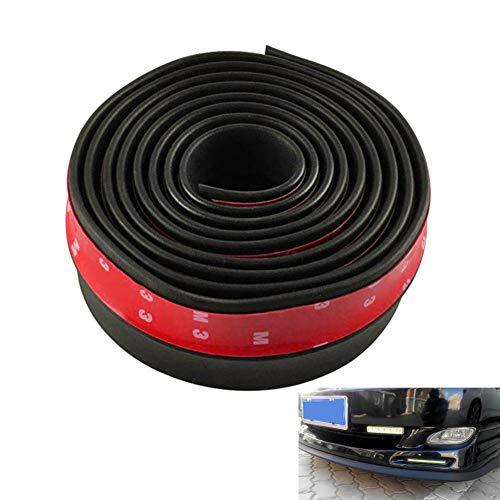 Xploit - Protector de parachoques lateral delantero de coche, protección para los labios, parachoques lateral, trasero, universal, adhesivo de protección de separador