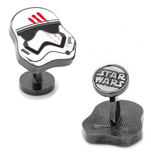 masgemelos Manschettenknöpfe fn-2187Stormtrooper Star Wars Cufflinks
