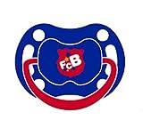 LATEX SCHNULLER NUCKEL FC BARCELONA FCB BARCA blau