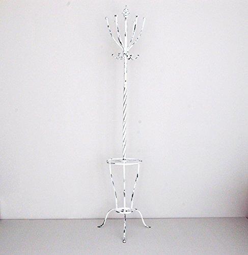 Sukima Decor Perchero de pie forja Blanca 189cm
