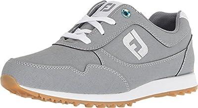 FootJoy Women's Sport Retro Golf Shoes Grey 7 M US