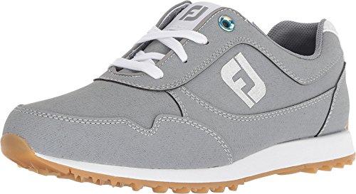 FootJoy Women's Sport Retro Golf Shoes Grey 6.5 M US