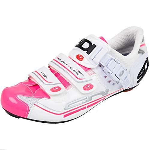 Sidi Genius 7 Schuhe Damen weiß/pink Schuhgröße EU 37 2019 Rad-Schuhe Radsport-Schuhe