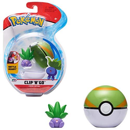 PoKéMoN Oddish & Pokéball, Enthält 1 5cm Figur &