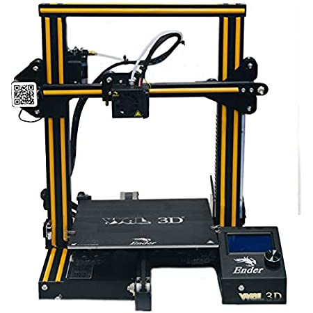 WOL3D ENDER 3 ORIGINAL DIY 3D PRINTER WITH RESUME FUNCTION AND EASY TO ASSEMBLE