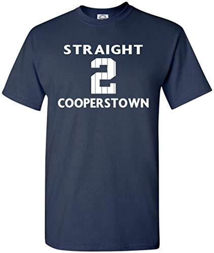 The Silo Navy New York Derek Jeter Straight to Cooperstown T-Shirt Adult