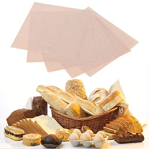 Bolsa para barbacoa, 5 bolsas para tostadora para horno o parrilla para microondas(16 * 18CM 5 packs)