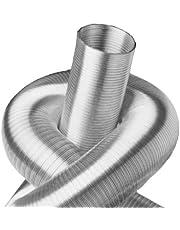 Intelmann Aluminium flexibele buis Ø 100 mm lengte 3m, MADE IN GERMANY (80 100 125 150 160 180 200 224 250)