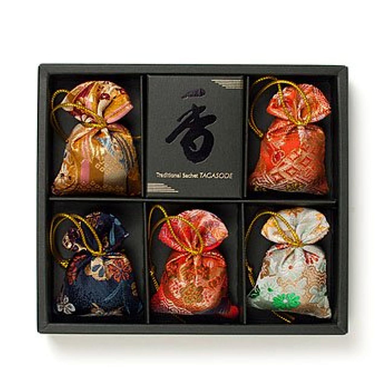 サーキュレーション第二長いです匂い袋 誰が袖 みやこ(大) 5個入 松栄堂 Shoyeido