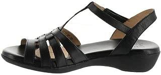 Naturalizer Nanci Leather Comfort Sandal Black 6M # 578-593