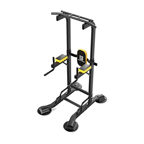 MGIZLJJ Power Tower Adjustable Dip Station Pull up Bar Push Up Workout Abdominal Exercise Home Gym Tower Body Building Fitness Training Equipment Machine