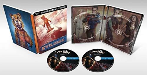 Ash Vs Evil Dead Complete Season 3 Steelbook Exclusive (Blu-ray/Digital)