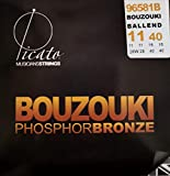 Picato 96581B Bouzouki Irish Unison Tuning Ball End String, Set di 8 Pezzi