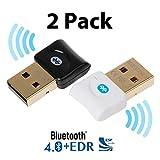 Bluetooth CSR 4.0 USB Dongle Adapter, EKSEN Bluetooth Transmitter and...