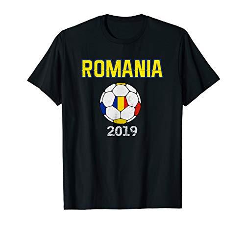 Rumänien Fußball Fußball - Rumänische Flagge Futbol T-Shirt