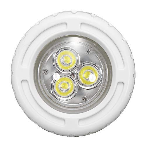 SUNXK 6W AC12V 3 LED Inbouw Zwembad Licht Spa RGB Witte Fontein Nachtlamp SUNXK