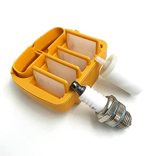 LODCC Kit de bujía de Filtro de Aire de Combustible para Husqvarna 545, 550 XP, 550XP Jonsered CS2252 CS2253 Piezas de Motosierra# 522675402 Está Seguro (Size : HUS550)