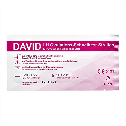 15 x David Ovulationstest Streifen 10 miu/ml LH ovulation test