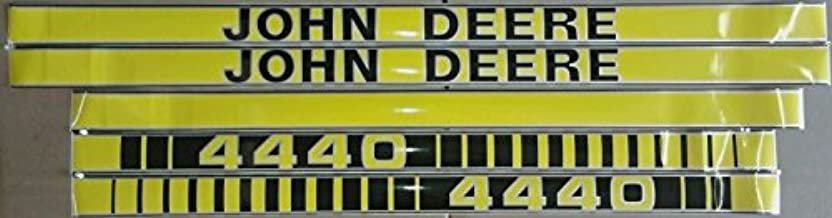 JD44440TP New Hood Decal Kit Set Made For John Deere Tractor 4440