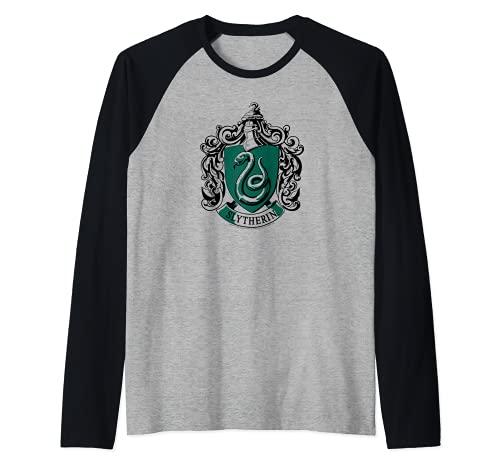 Harry Potter Slytherin Crest Camiseta...