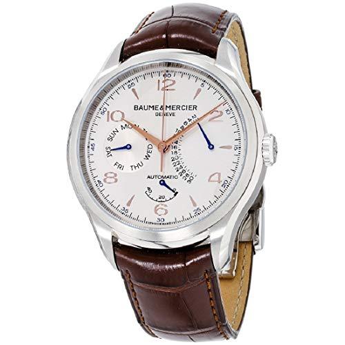 Baume & Mercier Herren Uhr Analog mit Leder Armband 10149