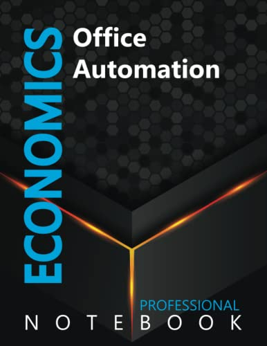 """Compare Textbook Prices for Economics, Office Automation Ruled Notebook, Professional notebook, Journal for Business & Economics Professional, Large 8.5"""" x 11"""" size, 108 pages, Glossy cover  ISBN 9798491500024 by Cre8tive Press"""
