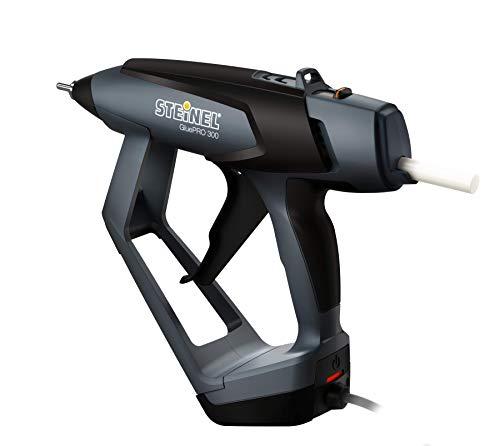 Steinel 035280 Profi-Klebepistole GluePRO 300, elektronisch geregelte Heißklebepistole, Klebemenge einstellbar, wechselbare Düsen, Aufhängemöglichkeit