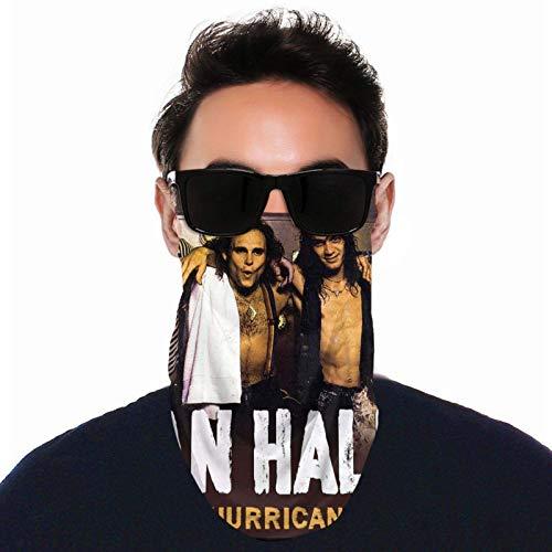 HGFDHG Van Halen Pasamontañas para colgar en la oreja, transpirable, toalla para la cara