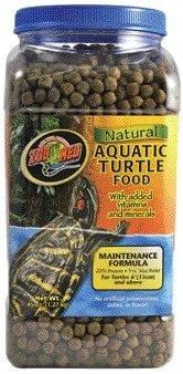 Zoo Med Natural Aquatic Turtle Food Maintenance Formula [Set of 2] Size: 24 Oz.