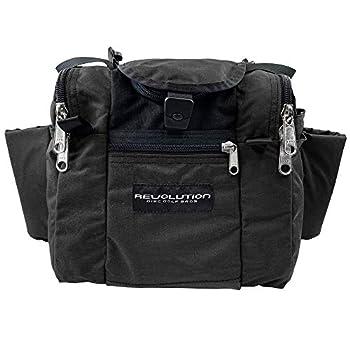 Revolution Disc Golf 2020 Deluxe Mini Disc Golf Bag - Black
